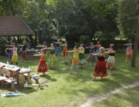 Kahiko tánc gyakorlása