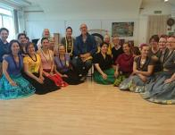 Loea (hawaii tanítónk) nemzetközi  workshopján Münchenben 2015. májusában