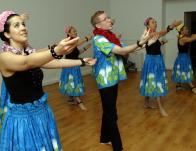 Osztrák táncosokkal közös bemutató
